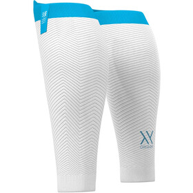Compressport R2 Oxygen Mangas para Pantorrillas, white